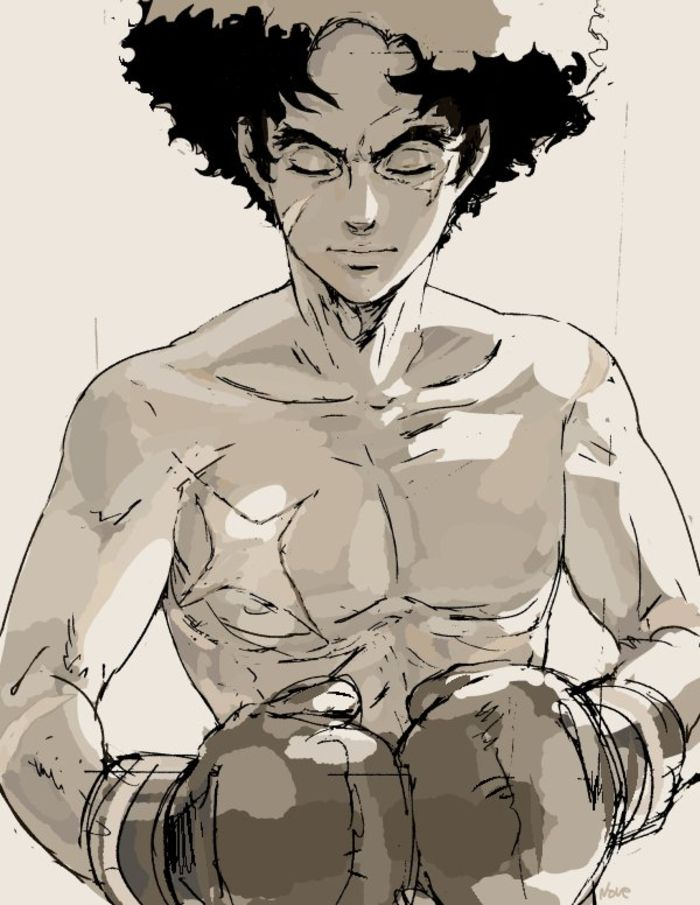 Dessins fanart Megalo Box