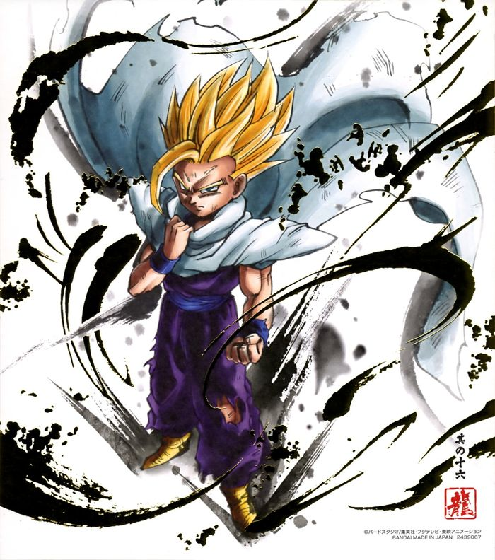 Shikishis Dragon Ball Art Collection 6