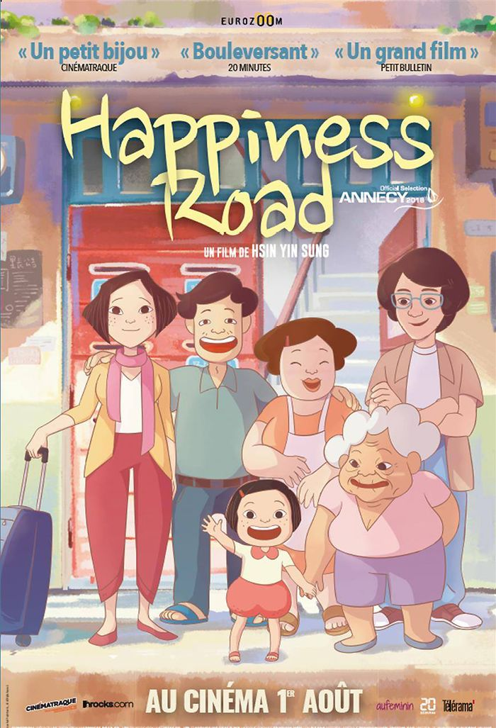 On Happiness Road gagne le grand prix du SICAF 2018 (Seoul International Cartoon and Animation film Festival)