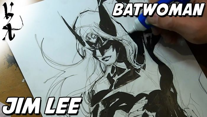 Dessiner les comics : Jim Lee dessine Batwoman