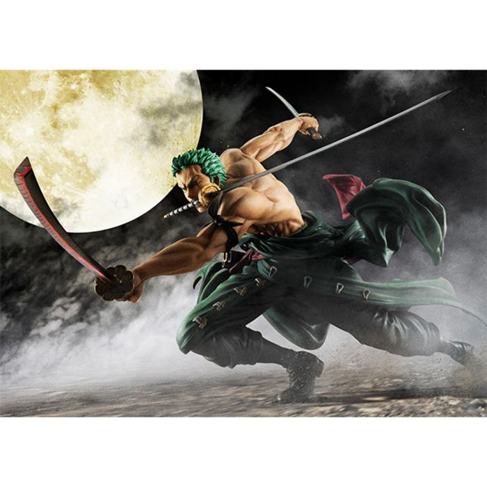 Figurine Portrait Of Pirates One Piece SA-Maximum Roronoa Zoro version 3000 mondes