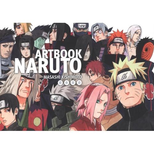 Coffret naruto 2 artbooks masashi kishimoto fiche produit sur tvhland - Jeu info naruto ...