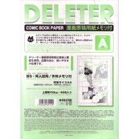 Deleter Comic Book Paper Ruler A type 110 A4