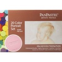 PANPASTEL Set de 20 couleurs - Portrait