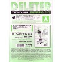 Deleter Comic Book Paper Ruler A type 110 B4