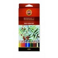 12 Crayons Aquarellables Mondeluz