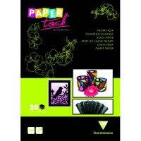Paper Touch Noir Clairefontaine 120g