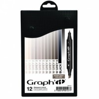 Set 12 Graph It - Warm Grey