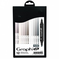 Set 12 Graph It - Mix Grey