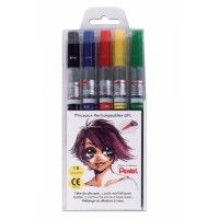Pentel Set Color Brush Basic
