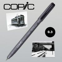 Copic Multiliner noir 0.3 mm