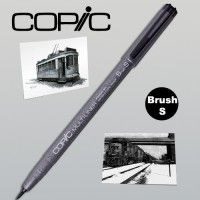 Copic Multiliner noir Brush fin (BS)