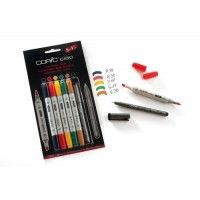 Set 5 Copic Ciao Couleurs Hue et 1 Multiliner