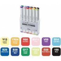 Set 12 Copic Sketch - Tons Vives