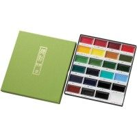 Set Aquarelle GANSAI - 24 couleurs