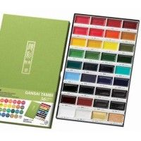 Set Aquarelle GANSAI - 36 couleurs