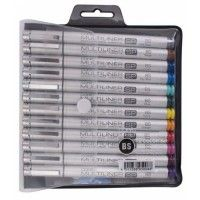 Set de 12 couleurs Copic Multiliner SP BS