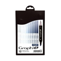 Set 12 Graph It - Cool Greys