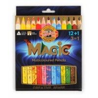 Set 12 crayons MAGIC et 1 Blender