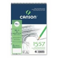 CANSON 1557 Extra Blanc Spirale A5 120g 50f
