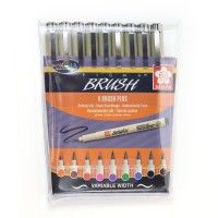 Set de 9 feutres PIGMA BRUSH