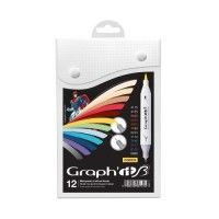 Set 12 Graph It Brush et Extra-Fine - Comics