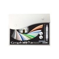 Set 24 Graph It Brush et Extra-Fine - Architecture