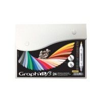 Set 24 Graph It Brush et Extra-Fine - Comics