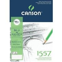 CANSON 1557 Extra Blanc A4 120g 50f