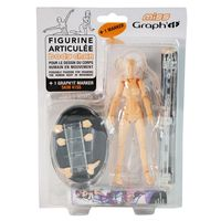 Kit figurine articulée Miss Graph It