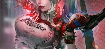 Dessin Harley Quinn étape Par étape Par Antilous