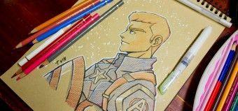 Tuto de dessin pour d butant dessiner les yeux - Comment dessiner captain america ...