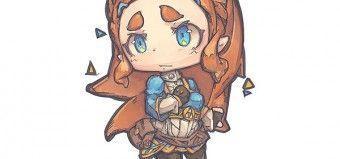 Zelda Breath Of The Wild Dessiner Zelda En Mode Chibi