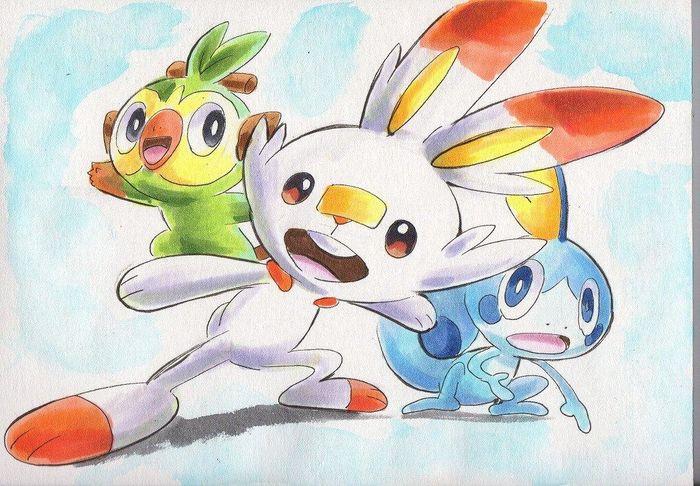 Fanart Pokemon Epee Et Pokemon Bouclier Partie 3