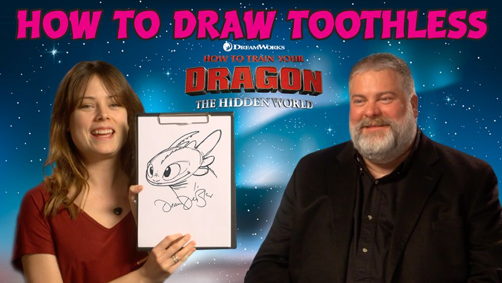 Apprendre A Dessiner Krokmou De Dragons 3