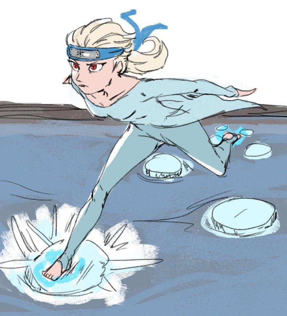 La Reine Des Neiges 2 - Elsa en ninja