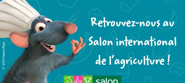 Disney Tous en Forme et Parmentine au Salon International de l'Agriculture 2019