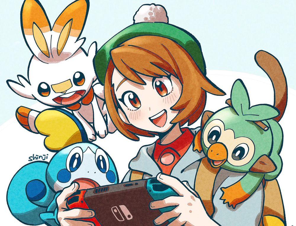 Fanart Pokemon Epee Et Pokemon Bouclier Partie 1