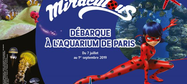 Gagnez des places VIP Miraculous à l'Aquarium de Paris