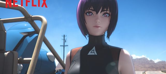 Teaser Ghost in the Shell: SAC_2045 - Netflix France