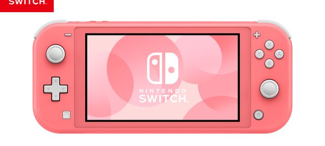LA CONSOLE NINTENDO SWITCH LITE CORAIL ARRIVE EN EUROPE LE 24 AVRIL 2020